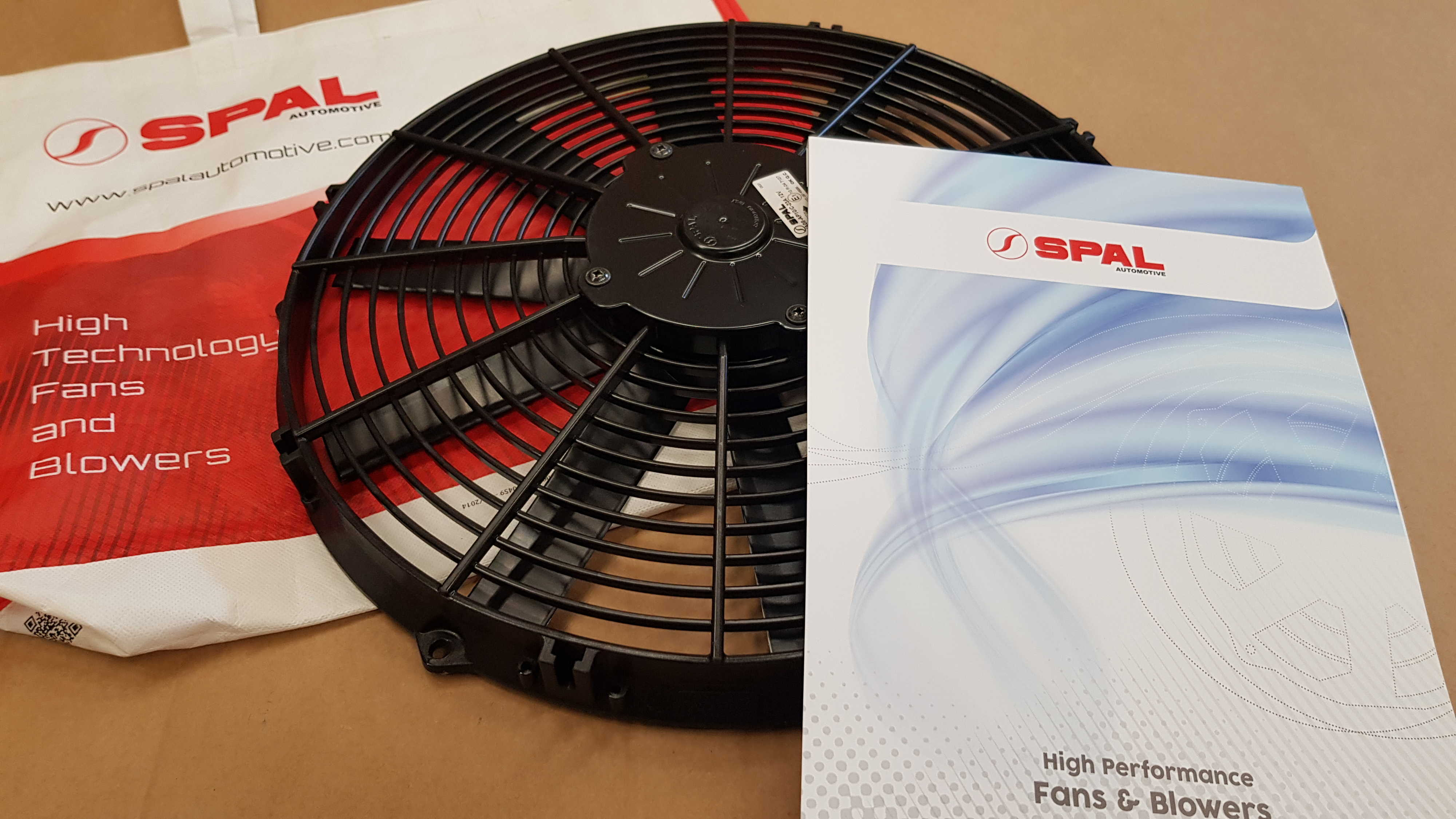 SPAL cooling fan 225mm (suction)