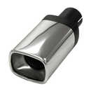 Tail pipe quattro 2 inch SS