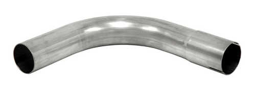 "Bent exhaust tube 90° 3,5"" SS (89mm)"