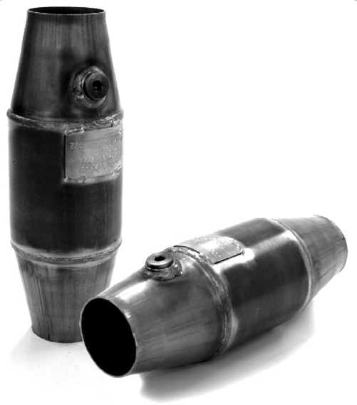 "2,5""-3,5"" Catalytic converter race 100cell"