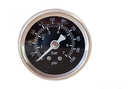 Fuel pressure gauge 0-7 bar black