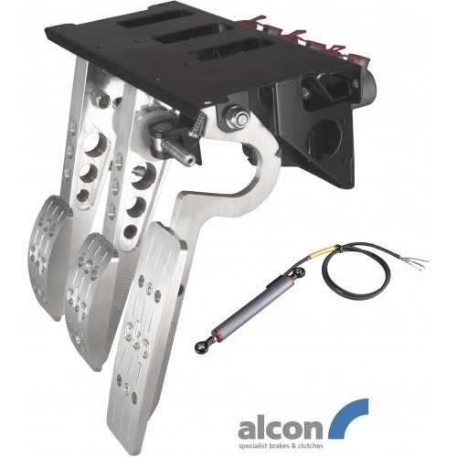 OBP Top mounted pedal box 3 pedals PRO-Race  (Alcon cyl.)