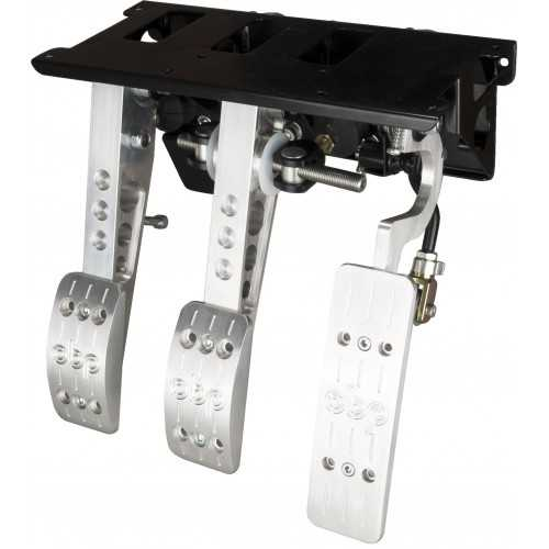 OBP Top mounted pedal box 3 pedals 3x master cylinders PRO-Race V2